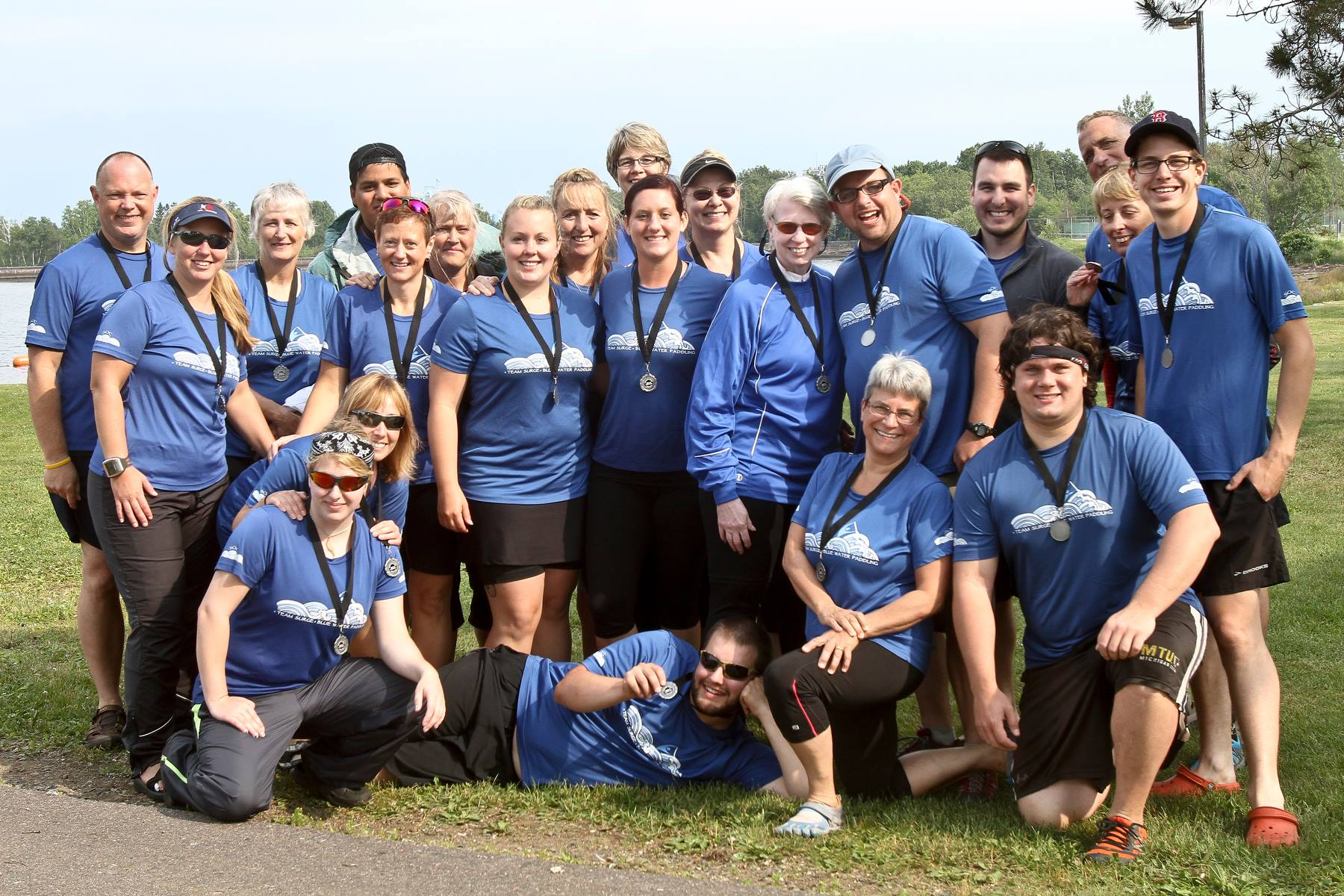Blue Water Paddling team photo